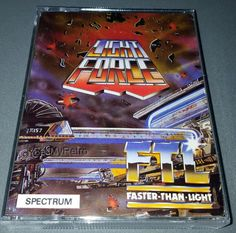 Lightforce / Light Force: CONDITION:- GREAT COMPATIBILITY:- ZX SPECTRUM 48K+ / 128K RANGE FORMAT:- CASSETTE CASE/BOX TYPE:- DOUBLE CASSETTE… Faster Than Light, Cassette, West Midlands, Spectrum, Software, This Or That Questions, Retro, Classic, Computers