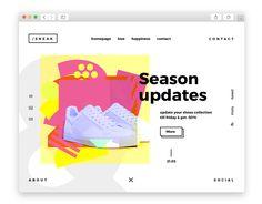 dribbble SS16.WEB/UI on Behance