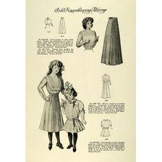 1909 Good housekeeping girls