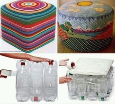 Plastic bottle upcycle