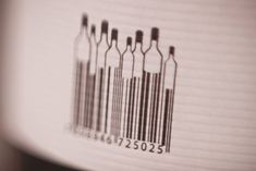 clever barcode idea. Label and packaging for wine Camponogara Brothers, Brazil
