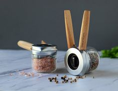 Ortwo One-Handed Pepper Mill By Dreamfarm Hard Graft, Salt And Pepper Grinders, Leather Camera Strap, Miniture Things, Shopping Hacks, Cool Kitchens, Crushes, Spices, Stuffed Peppers