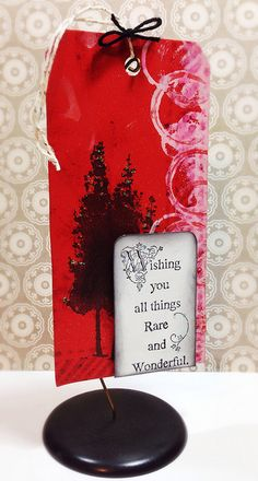 by Tobi Crawford for #Stampendous and #ScrapbookAdhesivesby3L Blog Hop