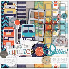 Chill Zone :: Full & Mini Kits :: Memory Scraps