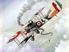 191891ª Squadriglia SPAD XIII Francesco Baracca