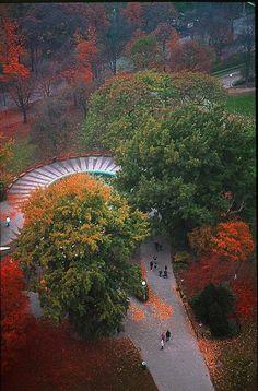 Prater Park in Wien
