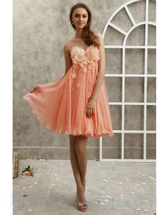 Peach dress...love for one of my girls (Jayden) but I'm not sure she would like this :)