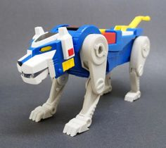 Voltron Blue Lion . . . it looks so good! But be prepared to spend at least eighty bucks on each individual one :C