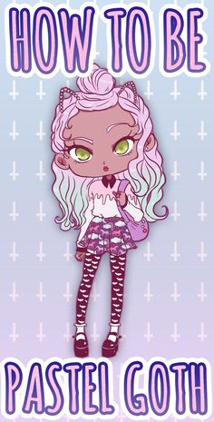 | Pastel Goth Style - The ultimate Guide | All you need to know about this fascinating Kawaii fashion style. Read the article here! http://ninjacosmico.com/how-to-pastel-goth/
