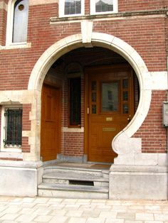 Art Nouveau door, Amsterdam by j.labrado, via Flickr