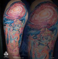 e976bac1c 30 best Lord Krishna Tattoo images in 2019 | Krishna tattoo, Tattoo ...