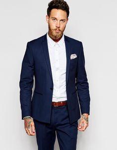 Image 1 ofASOS Skinny Fit Suit Jacket