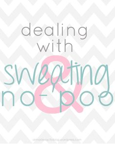 surprise double whammy day for NO-'POO WEEK since i've been asked about this so many times. woohoo! up for round 2 today is how to deal with sweaty head & no-'poo. heavy workouts? hot, humid da...