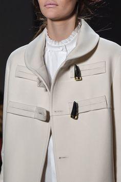 Chic Style - elegant toggle coat; fashion details // Derek Lam Fall 2016