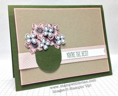 Something to Say, Just Sayin', Petite Petals, What's Your Type?, Stampin' Up!, Brian King