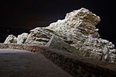 Nerja promenade at night - free stock photo
