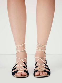 Free People Marrakesh Lace Sandal at Free People Clothing Boutique