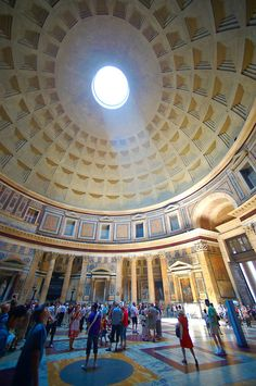 The century Roman temple to all Roman Gods built by the Emperor Trajan. Now the Roman Catholic church of St. Mary and the Martyrs. Sacred Architecture, Religious Architecture, Catholic Religion, Catholic Churches, Roman Gods, Best Of Italy, Ancient Rome, Ancient Greece, Travel Tours