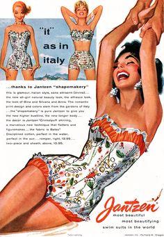 """"""" Jantzen 1955 / Illustrated by Pete Hawley """""""