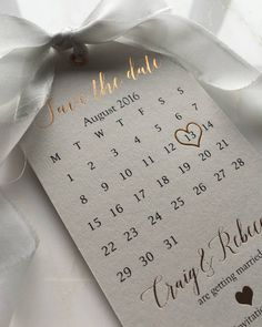 "1,433 Likes, 76 Comments - @down.the.aisle on Instagram: ""Obsessed with these Rose Gold Save the Date Tags by @SilkBeau  #savethedate #savethedates…"""
