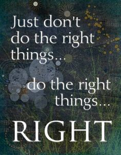 Do the Right Things 5x7 Greeting Card  Word Art by catalyst54, $8.00
