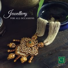 Make your garba night shimmer in statement jewellery. Antic Jewellery, Gold Jewellery Design, Fashion Jewelry Necklaces, Beaded Jewelry, Silver Jewellery, Silver Rings, Pandora Necklace, Indian Jewelry, Jewelry Collection
