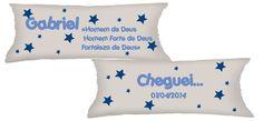 Almofadas Personalizadas Significado dos Nomes, ótima lembrancinha para Maternidade! Medida 15x30 Pedido mínimo de 10 unidades R$ 11,99