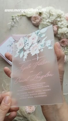 Modern wedding invitations with pastel flowers wedding videos Romantic wedding invitaitons Wedding Goals, Fall Wedding, Perfect Wedding, Our Wedding, Wedding Planning, Wedding Rings, Wedding Blush, Wedding Makeup, Dress For Wedding