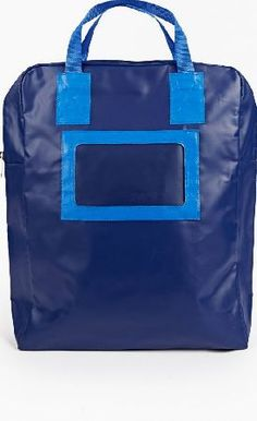 Comme Des Garcons Shirt square backpack The Comme Des Garcons Shirt Blue PVC Zip-up Backpack for AW16, seen here in blue. - - - - Crafted in Japan from lightweight PVC for a waterproof and durable finish, this classic backpack from Comme De http://www.comparestoreprices.co.uk/january-2017-6/comme-des-garcons-shirt-square-backpack.asp