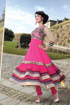 Pavitraa New Anarkali Embroidered Designer Salwar Kameez