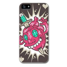 Glowing Hearts - iPhone 5 Case