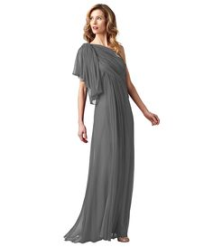 Adrianna Papell Draped Grecian Gown   Dillards.com $158