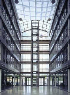 #glass #architecture interior of building with glass roof / ceiling