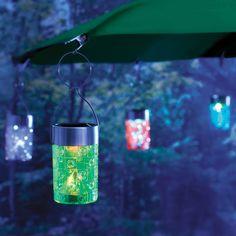 Solar Umbrella Clip Light - Love these!