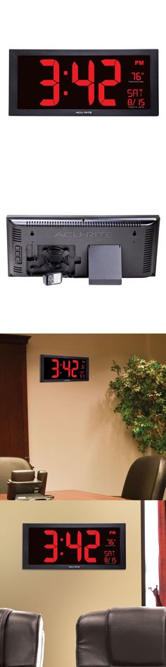 Wall Clocks 20561 Big Digital Wall Clock Large Led Display School