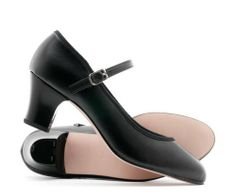 Ladies Black PU Character Stage Showtime Dance Shoes All Sizes Katz Dancewear Size 2 Heels, Tap Shoes, Dance Shoes, Ballet Dance, Kids Dance Wear, Black Characters, Ballet Girls, 2 Inch Heels, Lady