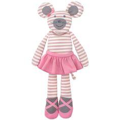 Ballerina Mouse Plush – baby company