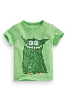 Monster Print T-Shirt (3mths-6yrs)