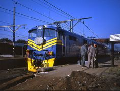 South Africa Klerksdorp Blue Train May 1982