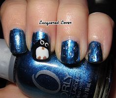 Winter nails - yes!