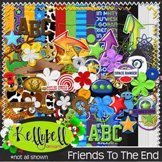 Friends To The End by Kellybell Designs