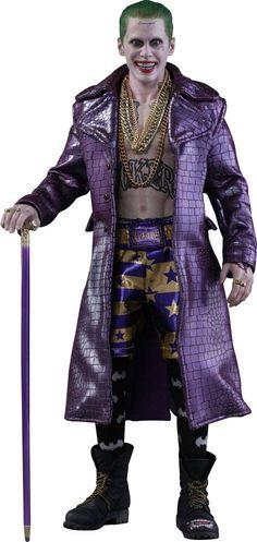 Suicide Squad Movie Masterpiece Action Figure 1/6 The Joker (Purple Coat Version) 30 cm