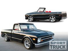 1968 Chevy C10 1970 Chevy Blazer Custom Chevy Trucks