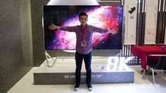 This $55000 98-inch 8K TV is actually 'cheap' Read more Technology News Here --> http://digitaltechnologynews.com  BERLIN  8K TVs are coming sooner than we thought...even if there's no 8K content to watch on them.  Samsung and LG both announced 98-inch 8K TVs at CES and now Changhong a Chinese consumer electronics company has one too. And it's still expensive.  It's one expensive screen but compared to the $133000 85-inch Sharp 8K TV released last year in Japan it's a hell of a lot cheaper…