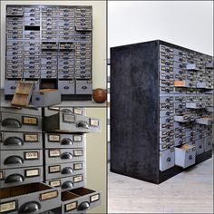 Archivschrank, Loft