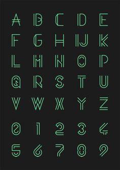 Quasith font by Egidio Filippetti