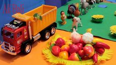 Farm Animals and Fruit Toys for Kids
