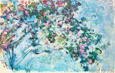 Claude Monet - Monet / The rose-bush / 1925/26