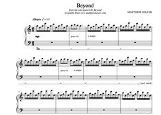 """Beyond has become Matthew Mayer's most requested and popular solo piano song:- Recently reached over 100,000 views on YouTube - Recognized as a Top 10 Instrumental Song by the International Acoustic Music Awards. (IAMA)- Featured in Reviews New Age """"The Best of Reviews New Age: The Piano"""" Album.Order your music and be a part of the"""