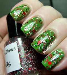 Jindie Nails Santa Claws   Pointless Cafe